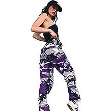 6f8f35f645 Amazon.it: pantaloni militari donna - Viola