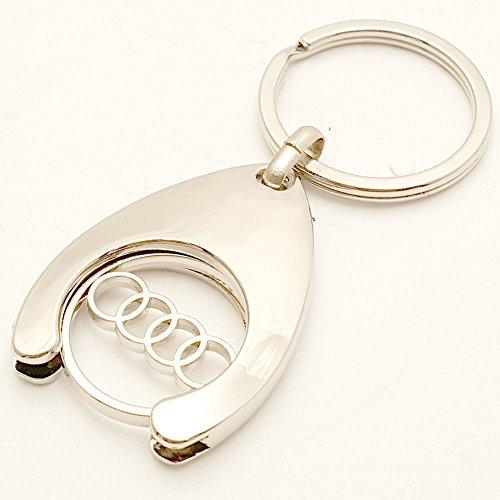 Preisvergleich Produktbild Audi Schlüsselanhänger Einkaufs Chip Einkaufswagen Euro Ersatz