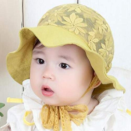 Gelb Kostüm Ranger Original - mlpnko Baby Sonnenhut New Infant Shade Fisherman Hat Gelb  45-50cm