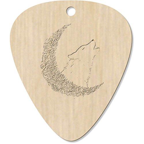 Azeeda 7 x 'Flor Luna Lobo' Guitarra Púa (GP00017536)