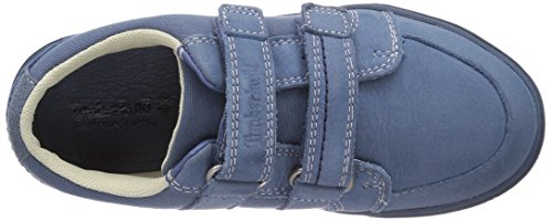 Timberland Slim Cupsole FTK_EK F/L H&L Ox Unisex-Kinder Sneakers Blau (Blue)