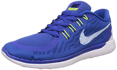 Nike Men's Free Run 5.0 Royal Blue Running Shoes - 7.5 UK/India (42 EU)(8.5 US)(724382-400)  available at amazon for Rs.3438