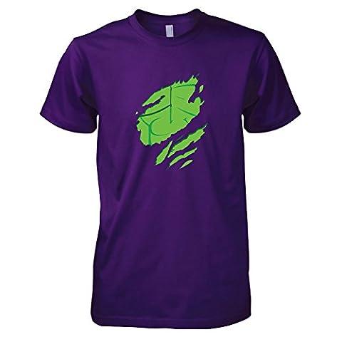 TEXLAB - Smasher Body - Herren T-Shirt, Größe XXL, violett (Herr Unglaubliche Kostüm-t-shirt)