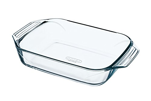 Pyrex Irresistible Glass rectangular Roaster high resistance 35x23x6 cm