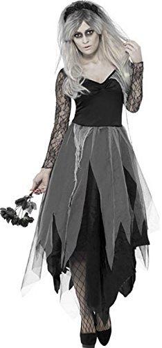 Damen Graveyard Bride Ghost Halloween Kostüm Alle -
