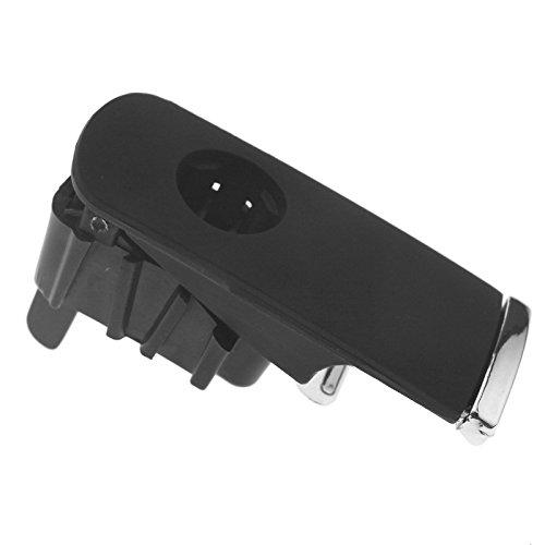 Couvercle Kit de R/éparation de Charni/ère Noir Support de Boite /À Gants Fix Kit Couvercle de Compartiment de Bricolage en Alliage daluminium SI-A0252