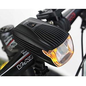HL-BT Luz Recargable De La Bici Luz De La Bicicleta Inteligente Faros Delanteros De La Bicicleta Luz De Seguridad Trasera Luces De La Bicicleta CREE XPE2 Construido En 1800Mah Batería