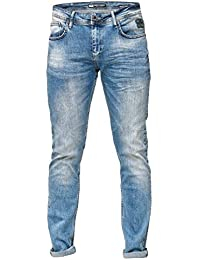 Rusty Neal Denim Men Jeanshose Vintage Jeans Hose Slim Fit Stretch Clubwear  Business 178 3013dafffe