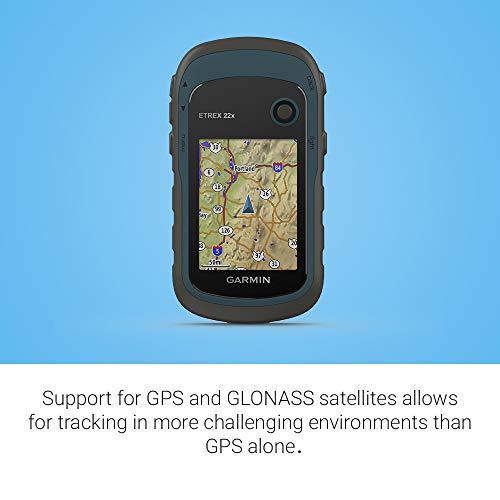 Garmin ETREX 22x GPS de Mano con Pantalla Color de 2.2
