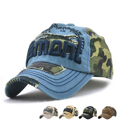 LAOWWO Baseball Cap Herren Cool Sport Outdoor Kappe Einstellbar Baumwolle Camo Army Cap