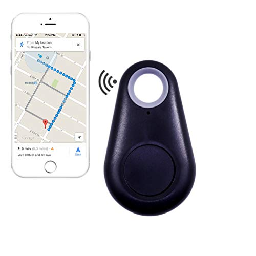Schlüsselfinder, Mini GPS Tracker Bluetooth 4.0 Auto Anti Lost Device GPS Tracker Pet Car überwachung Fahrrad Mini Locator Schlüsselanhänger Schlüsselsucher für Brieftasche Auto Kind Haustiere