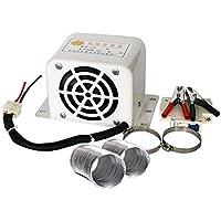 Dispositivo de descongelación del Calentador de automóviles KILLYSUFUY Máquina de eliminación de la Niebla de descongelación de 800 vatios 12V / 24v Calentador de Aire Caliente para automóviles