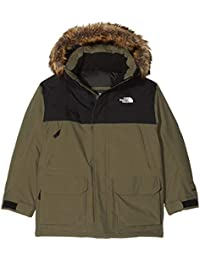 The North Face TNF - Chaquetas, Niños, Verde (New Taupe Green),