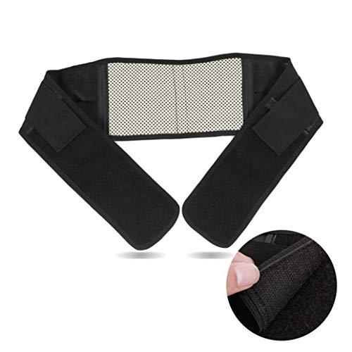 Terapia autoriscaldante supporto lombare dolore massaggiatore cintura regolabile magnetica a infrarossi