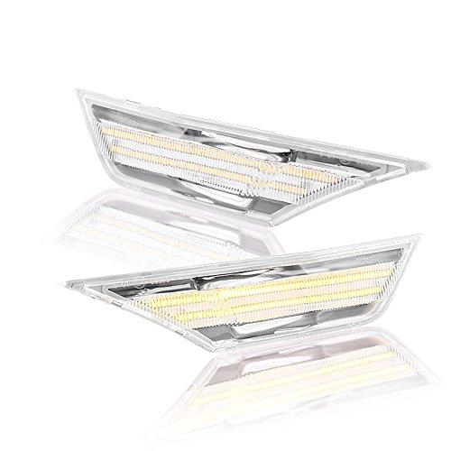 t LED Tagfahrlicht Blinker mit Zulassung White Vision (Seitenblinker Civic)