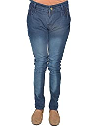 Leo Men's Blue Stretchable Slim Fit Jeans (J22)