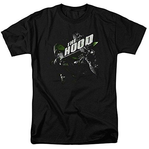 Trevco Herren T-Shirt Arrow Archer Illustration - Schwarz - Groß - Archer Shirt Show