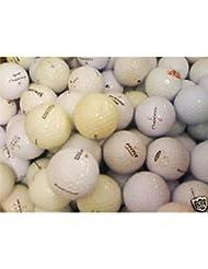 Lot de 100 balles de golf d'occasions (de différentes marques)