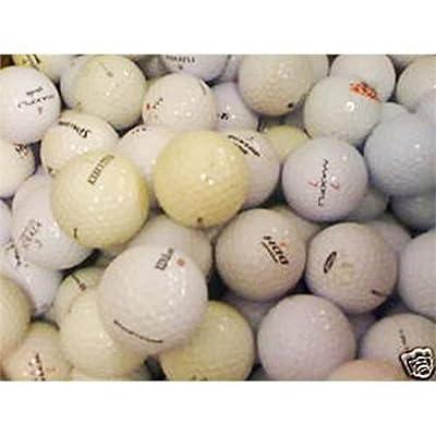 100 gebrauchte Golfbälle Lakeballs