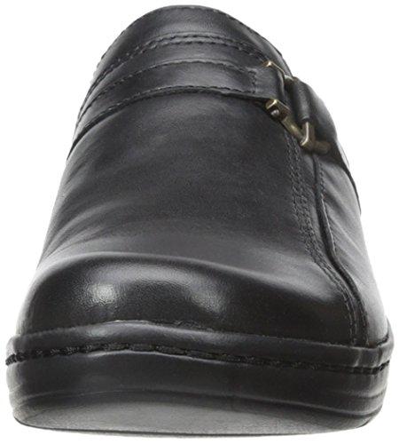 Clarks Hayla Marina Mule Black Leather