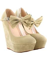 Win8Fong - Zapatos de vestir para mujer