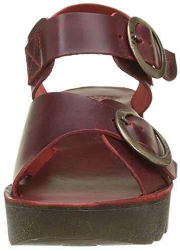 Fly London Yech189fly, Sandali a Punta Aperta Donna Rosso (Red)