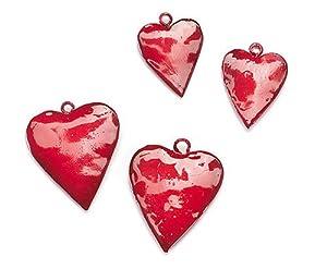 Gütermann / KnorrPrandell 8021390 - 5 cm de corazón Rojo 4 Partes Importado de Alemania