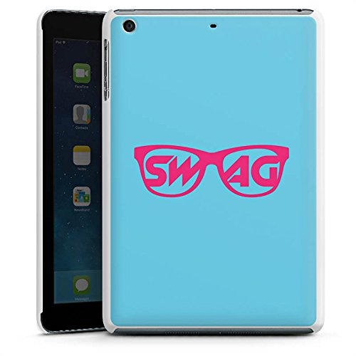 DeinDesign Apple iPad Mini 3 Hülle Schutz Hard Case Cover Brille Swag Hipster