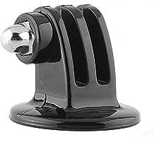 MadridGadgetStore® Soporte Adaptador de Trípode con Rosca de 1/4 Pulgada para Cámara VideoCámara Deporiva de Acción Go Pro GoPro HD Hero6 Hero5 Hero4 Hero3+ Hero 6 5 4 3+ 3 2 1 4K60 Black Silver Session SjCam Sj4000 Sj5000 Sj6000 Sj7000 M10 M20 Rollei Campark Monopié Monopod Mástil Palo Selfie Stick Tripode Alta Calidad Envío Gratis