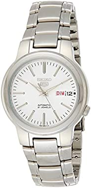Seiko Mens Automatic Watch, Analog Display and Stainless Steel Strap SNKA01K1