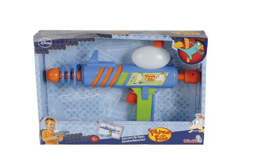 Simba Toys 107046931 Water Gun Phineas and Ferb