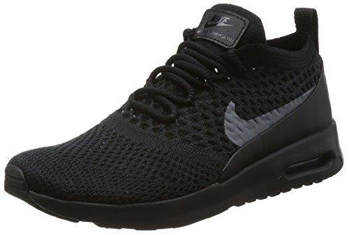 sale retailer 40eb4 db1c7 Nike Women s s Air Max Thea Ultra Flyknit Trainers Black Dark Grey, 6 UK 40