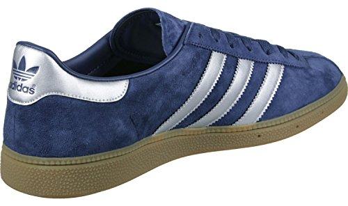 adidas Herren Munchen Fitnessschuhe, Blau Blau (Blue)