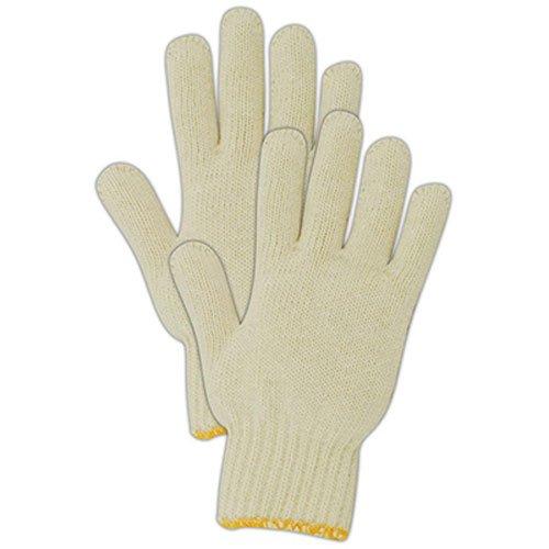 White Knit Glove (MAGID GLOVE & SAFETY 93CT Knit Cotton Utility Glove, Small, White by Magid Glove & Safety Mfg)