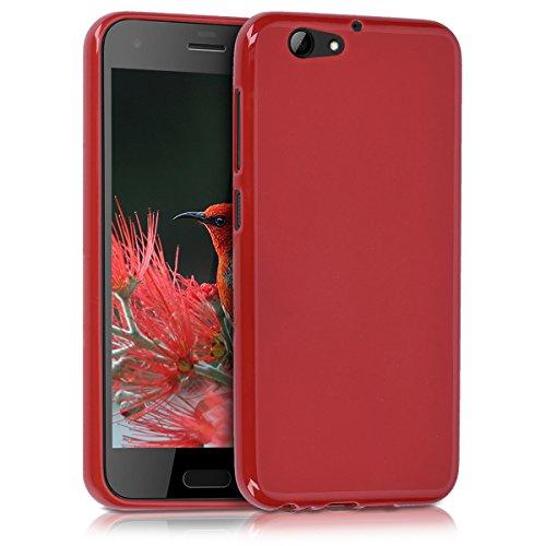 kwmobile HTC One A9s Hülle - Handyhülle für HTC One A9s - Handy Case in Rot matt