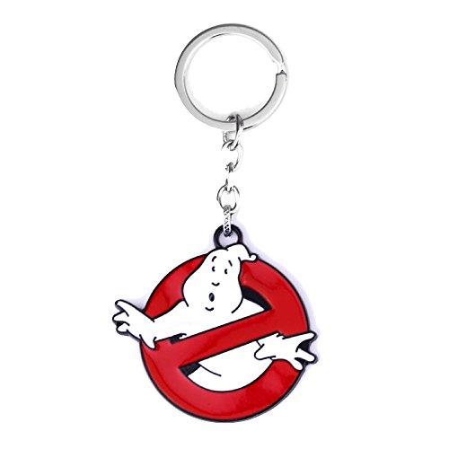 Ghostbusters Schlüsselanhänger aus massivem Metall, Ghostbuster-Kostüm-Zubehör (Ghost Buster Kostüme)