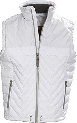 James Harvest Sportswear Burney Gilet Blanc