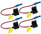Grapelet 4tlg Autosicherungen Stromdieb Stromabgreifer Stecksicherung Steck Sicherung Verteiler Anschlußkabel
