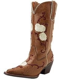 Nomad Buck Mujer Western Cowboy Botas