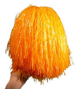 Pom Pom, 240 g, im Beutel, orange