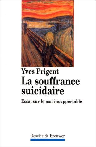 La souffrance suicidaire