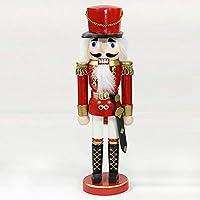 Precioso Cascanueces soldado, Klassisch, rojo, 25 cm