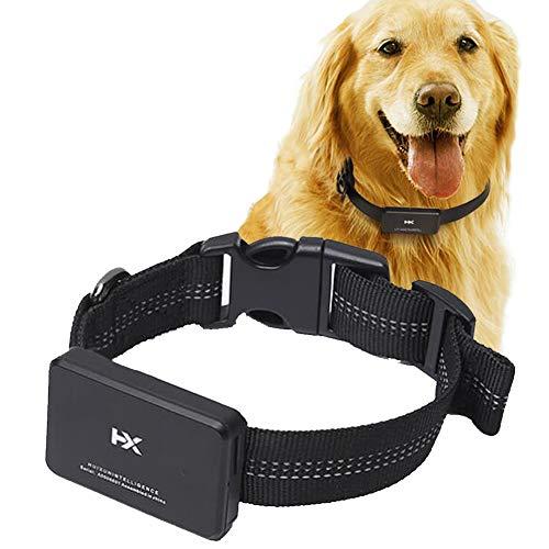 Pet Locator, Hund GPS-Satelliten-Micro-Tracking-Tracker Hund Anti-verlorene Wasserdichte Halsband, geeignet für große, mittelgroße Hunde,Mediumdog,E