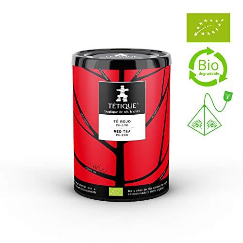 TÉTIQUE Té Rojo China Pu-Erh orgánico certificado