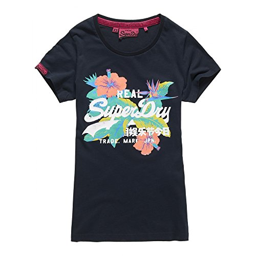 Superdry Damen T-Shirt ECLIPSE NAVY ECLIPSE NAVY