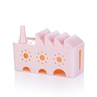 SJHO Kabel Multifunktions-Management-Box Line Manager - Multi-Line Manager-2 Pack,Pink