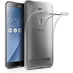 AICEK Coque ASUS ZenFone 2 ZE550ML/ZE551ML, Etui Silicone Gel ASUS ZenFone 2 Housse Antichoc ZenFone 2 Transparente Souple Coque de Protection pour ASUS ZenFone 2(5.5 Pouces)