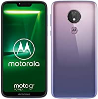 Moto G7 Power Smartphone, Dual-Sim, 5000 mAh Accu, 6,2 inch Display, 12-MP-Camera, 64Gb/4Gb, Android 9.0, Iced Violet