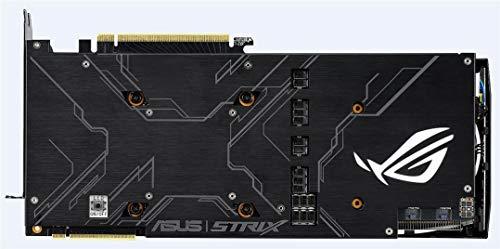 ASUS ROG-Strix RTX2080-O8G-Gaming - Tarjeta gráfica (GeForce RTX 2080, 8 GB, GDDR6, 256 bits, 7680 x 4320 Pixeles, PCI Express 3.0)