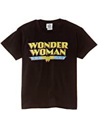 DC Comics Girls Official Wonder Woman Logo DC Comics T-Shirt